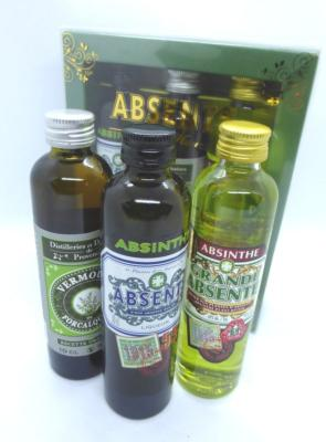 le coffret absinthe happy hours